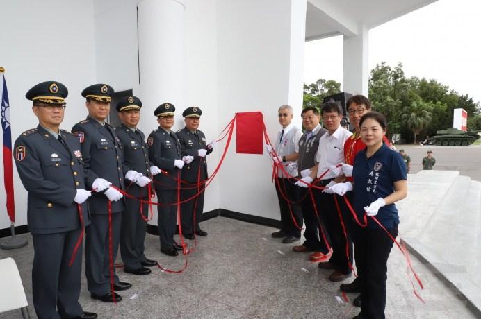陸軍第六軍團5日舉行龍岡訓場啟用儀式。(陸軍第六軍團提供)