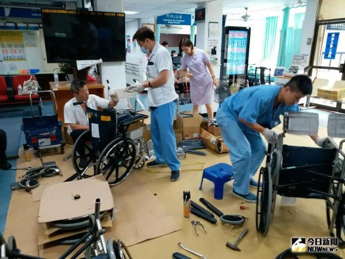 影/彰化榮家辦理榮民身障輔具維修服務