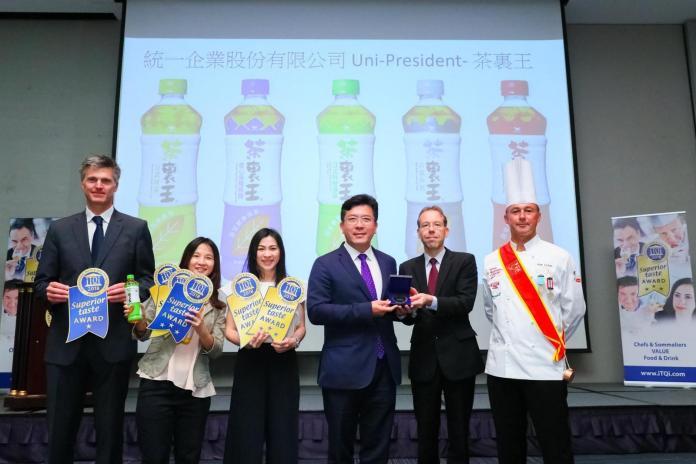 ▲2018台灣唯一獲iTQi 比利時風味絕佳獎包裝即飲純茶。(圖/資料照片)