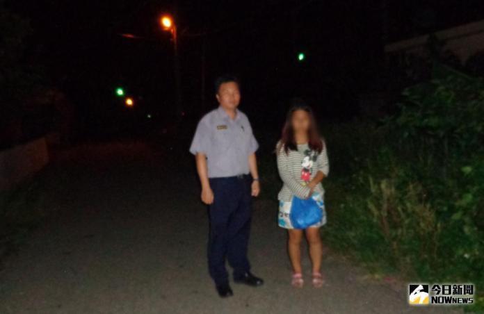 精障女會網友暗夜徘徊 警關懷協助安全返家