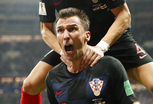 世足/延長賽克羅埃西亞逆轉英格蘭 首度踢進冠軍戰