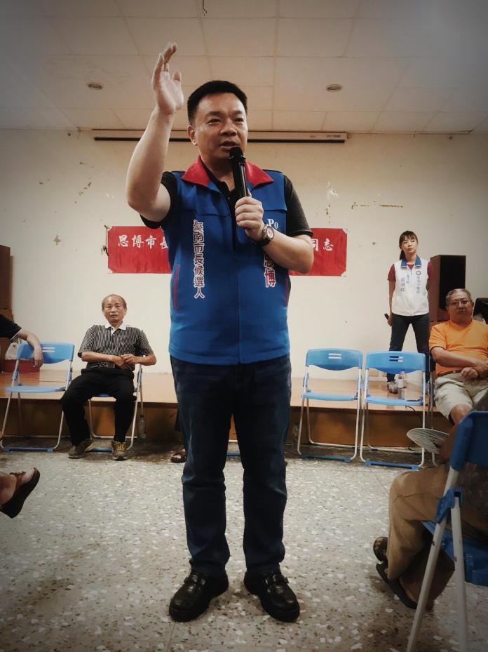 ▲講幹話喬事反升官,高思博:台灣的悲哀。(圖/公關照片)