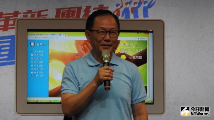 ▲國民黨台北市長參選人丁守中。(圖/記者戴祺修攝,2018.07.17)