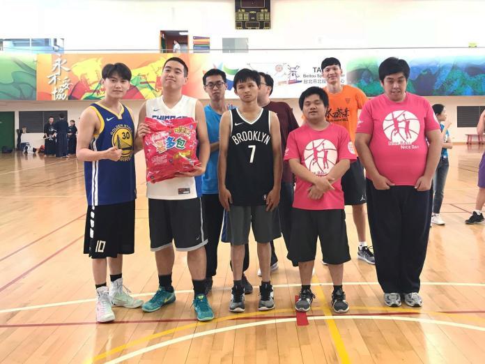 第八屆籃得好天天:障礙青年下戰帖 籃球好手過招
