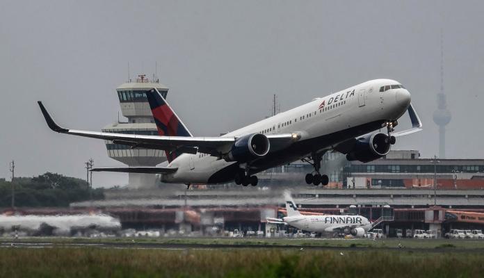 ▲達美航空在機場名稱中把中國國名拿掉。(圖/達志影像/美聯社)