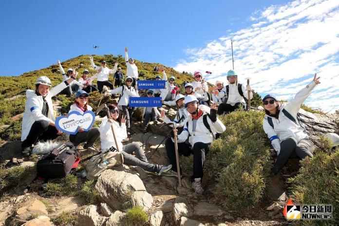 「手」護山林 首度企業贊助修建合歡北峰步道