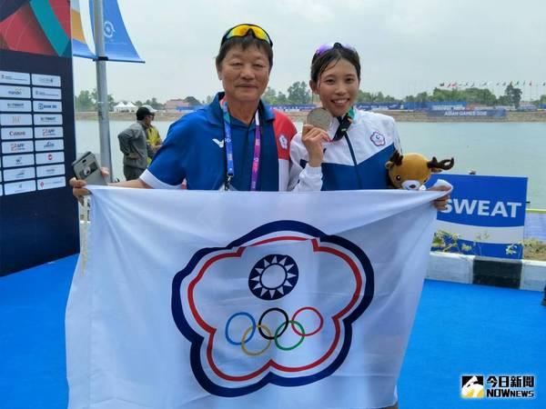 奧運/中華隊第一位出賽 單人雙槳黃義婷進入敗部復活戰