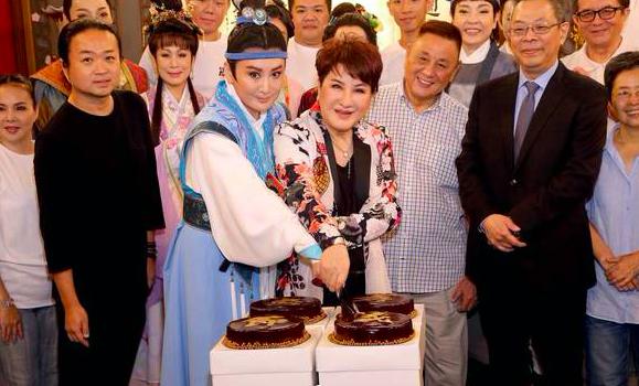 ▲楊麗花出席《忠孝節義》記者會。(圖/NOWnews資料照)