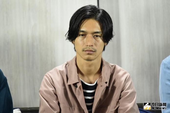 ▲「關8」錦戶亮來台宣傳演唱會。(圖/記者林柏年攝 , 2018.6.19)