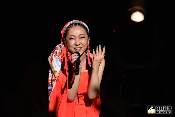 ▲MISIA米希亞將演唱日本國歌。(圖/記者林柏年攝 , 2018.6.17)