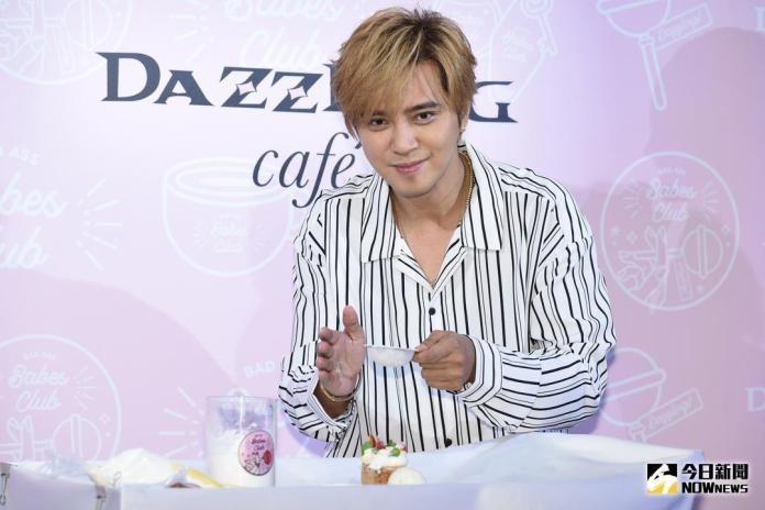 ▲ 羅志祥出席甜點店開幕活動。(圖/記者林柏年攝 , 2018.5.21)