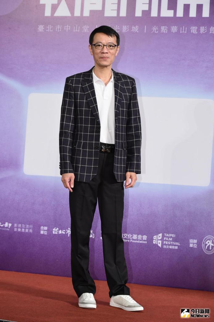 ▲吳朋奉出席2018台北電影奬入選公布記者會。(圖/記者林柏年攝