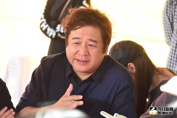 ▲電影《花甲大人轉男孩》開鏡,導演瞿友寧。(圖/記者林柏年攝 , 2017.10.22)