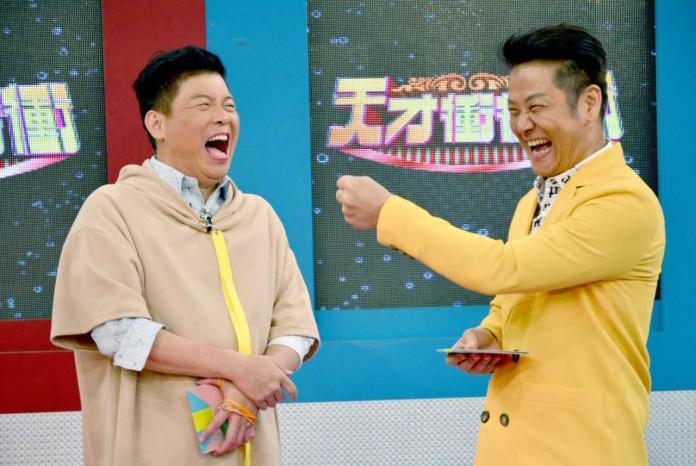 ▲曾國城、徐乃麟主持《天才衝衝衝》已12年。(圖/華視提供,2018.08.29)