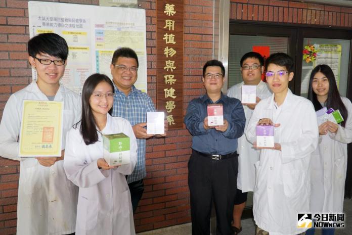 影/大葉大學藥保系開發纖奶茶  喝甜飲不再有罪惡感
