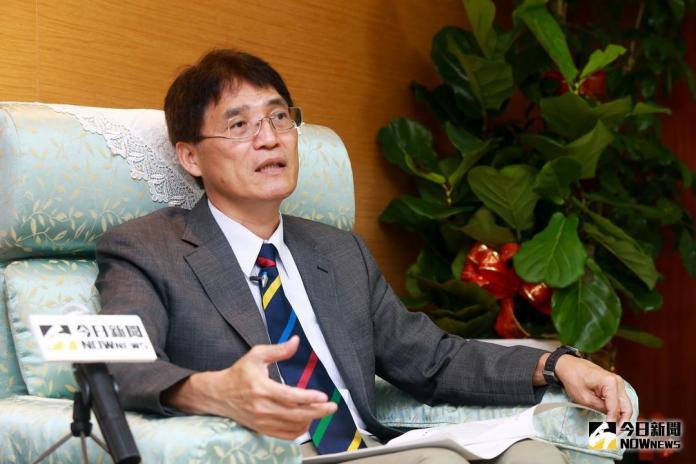 ▲ 體育署長高俊雄接受NOWnews專訪。(圖/記者葉政勳攝 , 2018.07.27)