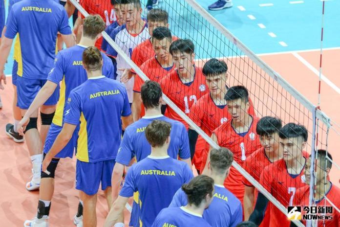 排球/友誼賽勝澳洲 中華男排勤練防守反擊