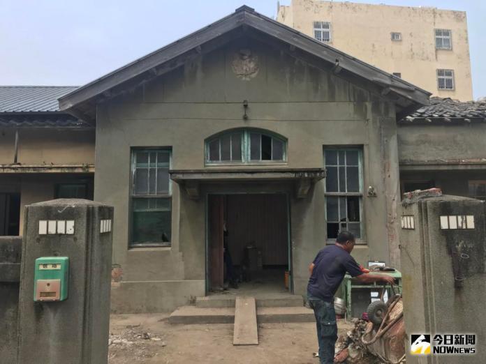 影/彰化縣歷史建築「<b>和美街長宿舍</b>」修復工程開工典禮