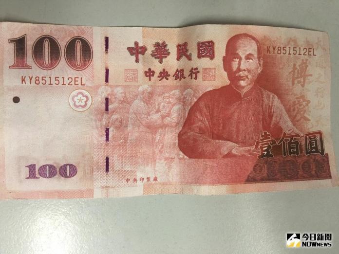 百元<b>偽鈔</b>流入台中市北屯市場