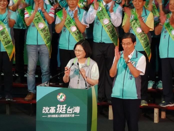 輔選重申「經濟好轉」 蔡英文:國民黨不要<b>唱衰</b>這麼難?