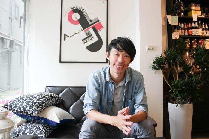 黃偉翔創辦平台技職3.0和非營利組織Skill for U,旨在破除外界對技職生的偏見。(圖/記者許維寧攝)