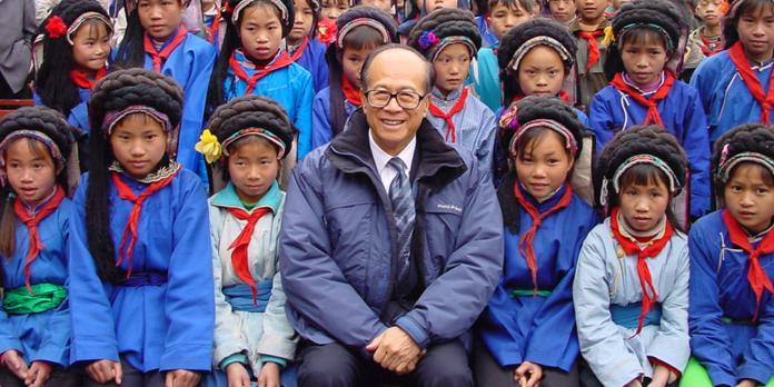 ▲傳統華人企業家代表李嘉誠。(圖/摘自李嘉誠基金會)