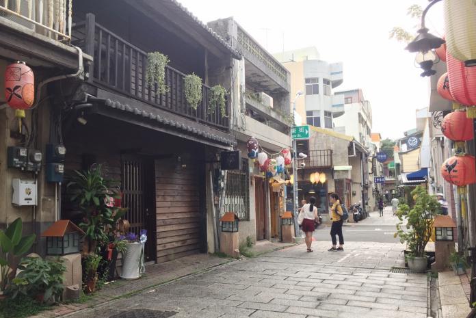 台南街道結合文創、藝術產業