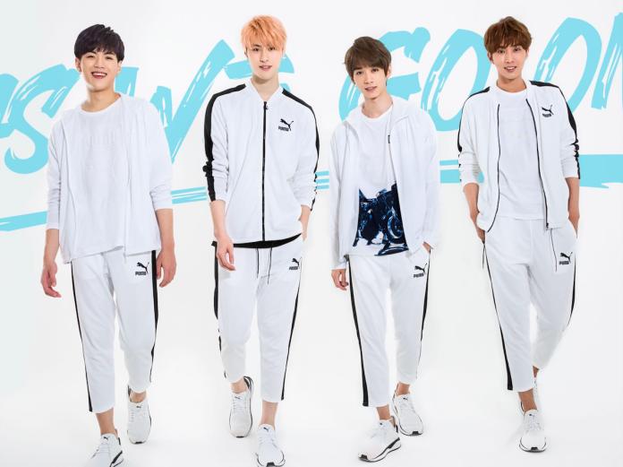 A-TEAM為「2018 全民運動會」打造歌曲〈AS WE GO ON(無畏前行)〉。(圖/年代娛樂提供, 2018.09.10)
