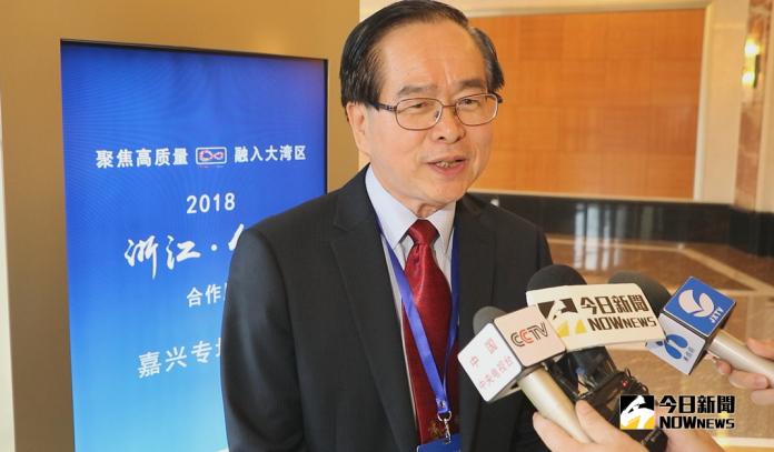 在嘉興發展的慶福國際月子會所董事長劉榮達表示,18年來親眼看到嘉興的進步,對未來相當有信心。(圖 / 吳文勝攝2018.09.10)