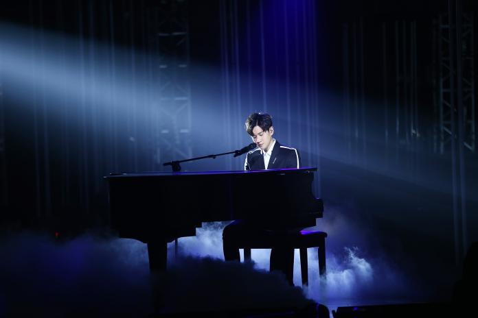 周興哲參加《潮音戰紀》節目。(圖/索尼音樂提供, 2018.09.15)