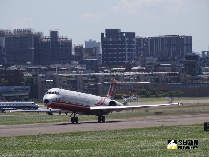 ▲每到台北市長選舉,松山機場的遷移問題就會再度被拿出來討論。(圖/記者呂炯昌攝 )