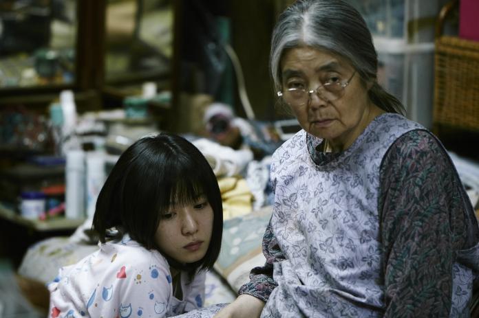 樹木希林(右)曾出演《小偷家族》。(資料照/采昌提供,2018.9.16)