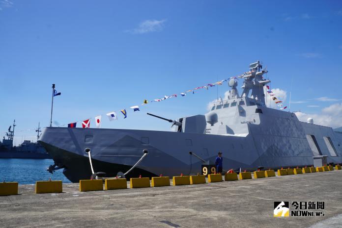 ▲海巡署12艘600噸級沱江型巡防艦,由中信造船得標。(圖/記者呂烱昌攝)