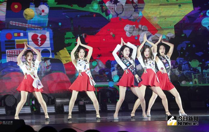 美圖/Red Velvet辣曬美腿 萌喊:打給我,我請客!