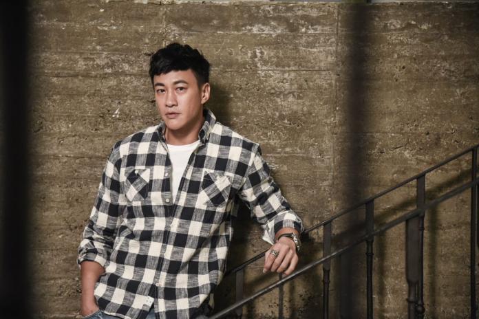 ▲何潤東憑《翻牆》入圍金鐘獎。(圖/記者陳明安攝,2018.09.22)