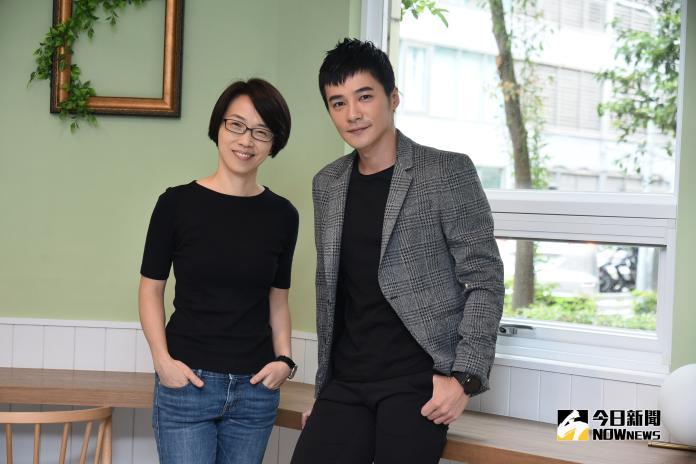 是元介作曲與周美玲導演合作「彩虹MV影像計畫」。(圖/記者林柏年攝,2018.9.25)