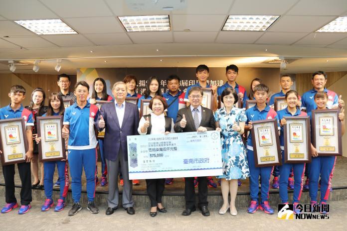 台南選手東亞運奪<b>1金8銅</b> 市府頒獎勉勵