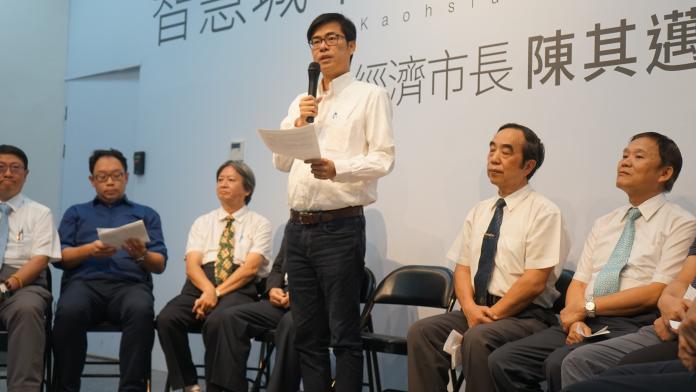 ▲陳其邁表示,不管是重症醫療或美容醫療,台灣都擁有世界數一數二的醫療技術,高品質就要往高價值發展。(圖/記者蔡佳宏翻攝,2018.09.27)