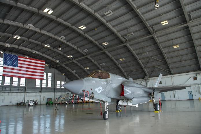 ▲具備雷達匿蹤、垂直起降能力的F-35B隱形戰機為我國空軍下一代戰機選項之一。(圖/美軍陸戰隊)