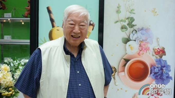 ▲ 南僑董事長陳飛龍。(鉅亨網記者張欽發攝)