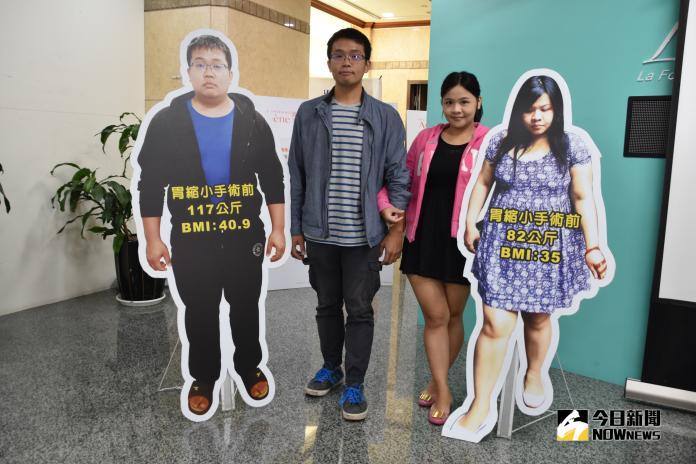 影/老公減重、老婆心動 大尺碼夫妻甩重64公斤