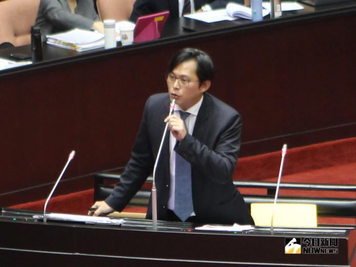 時代力量立委黃國昌。(圖/記者葉滕騏攝,2018.10.05)