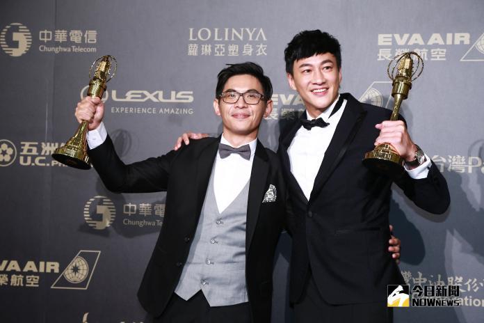▲姜瑞智、何潤東拿下「戲劇節目導演獎」。(圖/NOWnews攝影中心, 2018.10.06)