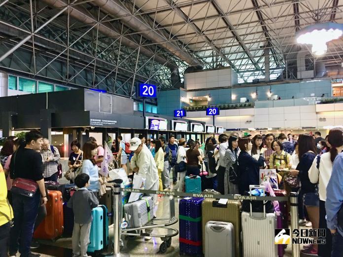 國慶軍演空中交通管制 桃園、松山機場航班恐延誤