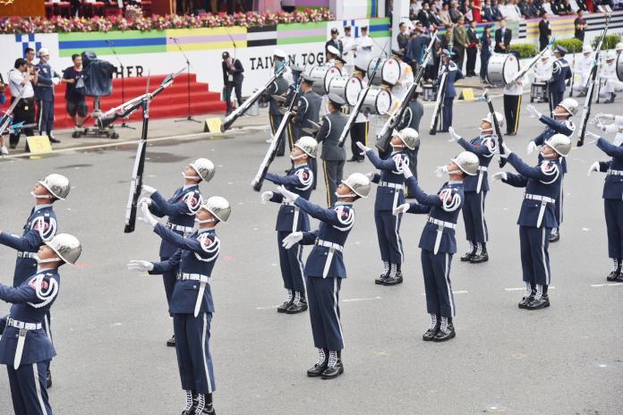 世界儀隊錦標賽 國軍明年將以中華民國名稱出國參賽
