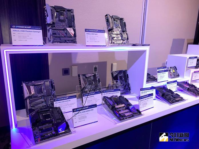 ▲在推出六核心Coffee Lake處理器與Z370主機板後近一年時間,Intel再次以更多核心、更高時脈的新一代處理器及Z390晶片組主機板驚艷市場!(圖/記者劉士成攝,2018.10.08)
