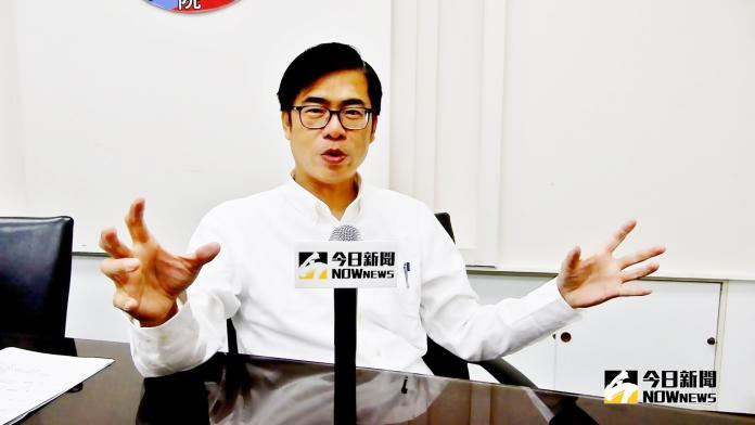 陳其邁潛水經驗談。(圖 / 記者陳弘志攝,2018.10.11)