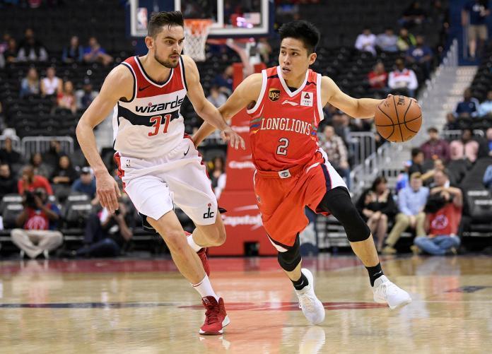NBA/陳盈駿替補上陣拿9分 龍獅慘輸巫師29分