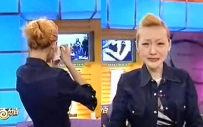 <br> ▲小S在錄影現場情緒崩潰,哭著向姊姊大S喊話。(圖/翻攝YouTube , 2018.10.13)