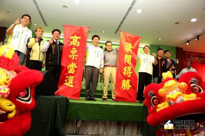 南瑤宮「老大媽」加持 林佳龍:讓世界看見台中的進步